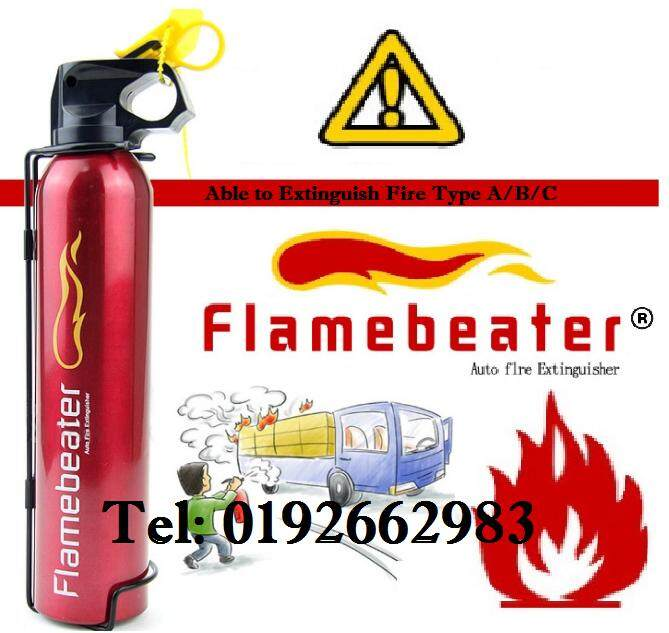 ORIGINAL 【Set of 1】- Flamebeater Fire Extinguisher Automotive Fire Stop Foam Emergency Life Saviour For Indoor and Outdoor Dual Use