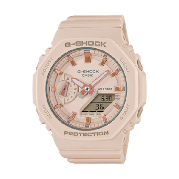 *New Arrival* Casio G-Shock S Series GMA-S2100 Carbon Core Guard Structure Beige Resin Band Watch GMAS2100-4A GMA-S2100-4A (casio watch) Malaysia