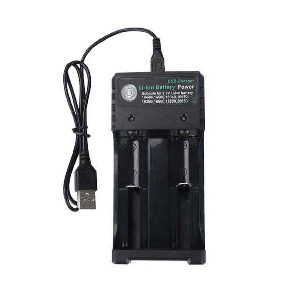 Mua GTF Bộ Sạc USB 2/4/18650 Khe Cắm 26650/14500 Bộ Sạc Pin Li-ion Để Sạc 18650/16340 Pin Li-ion 3.7V Có Thể Sạc Lại