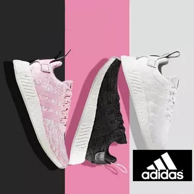 Ori Adidas NMD R2 7 Warna Stok Tersedia Pria/Wanita Sepatu Size36-45running Kasual