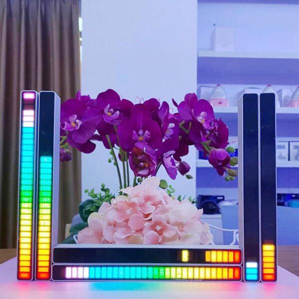 Bảng giá Đèn Led Âm Nhạc Cảm Biến Âm Thanh Nhiều Màu Rgb Cho Ô Tô, Đèn Đồng Bộ Nhạc Neon 18 Chế Độ Màu Có Thể Điều Chỉnh