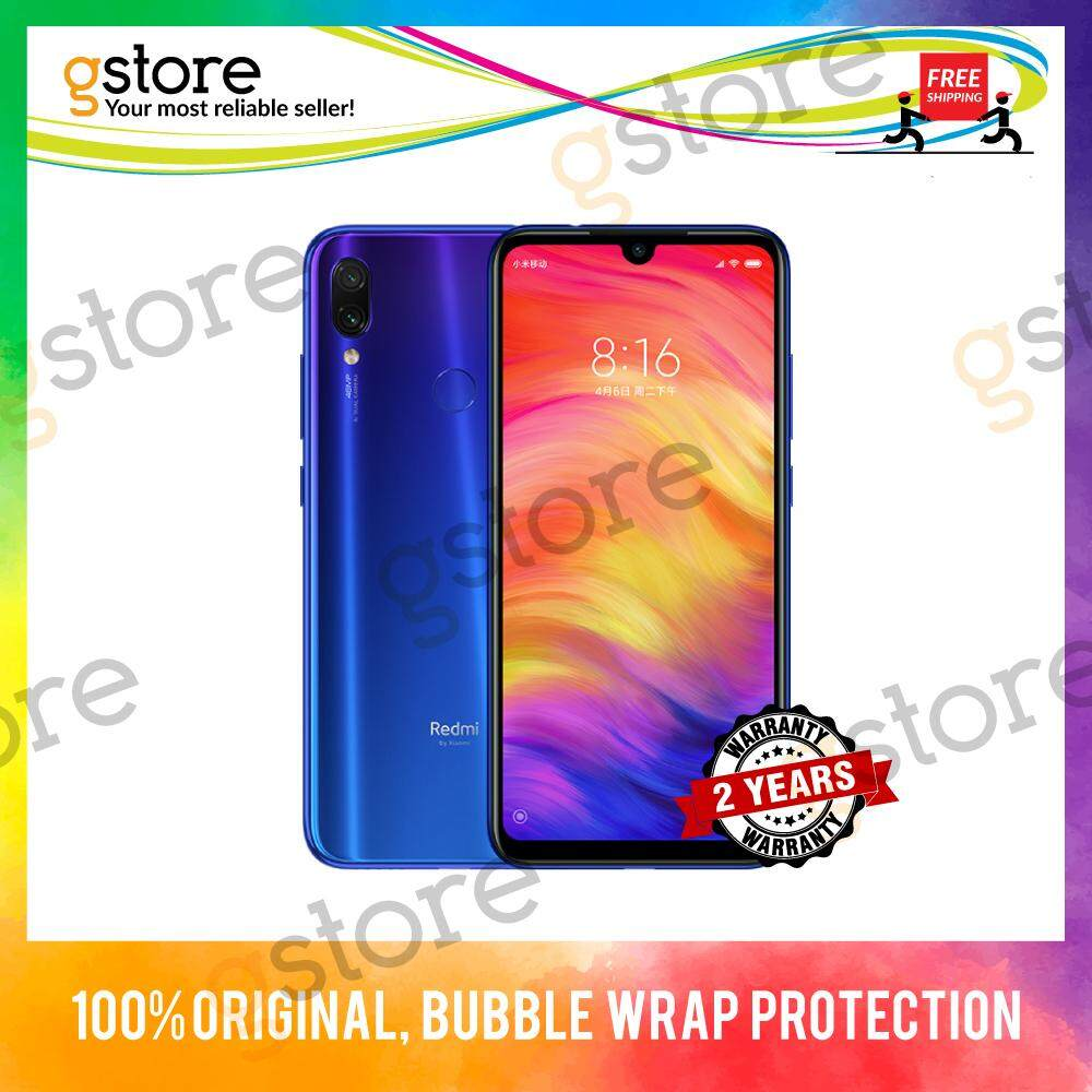 (2 Years Warranty) Xiaomi Redmi Note 7 [128GB & 64GB ROM/4GB RAM]  International Set