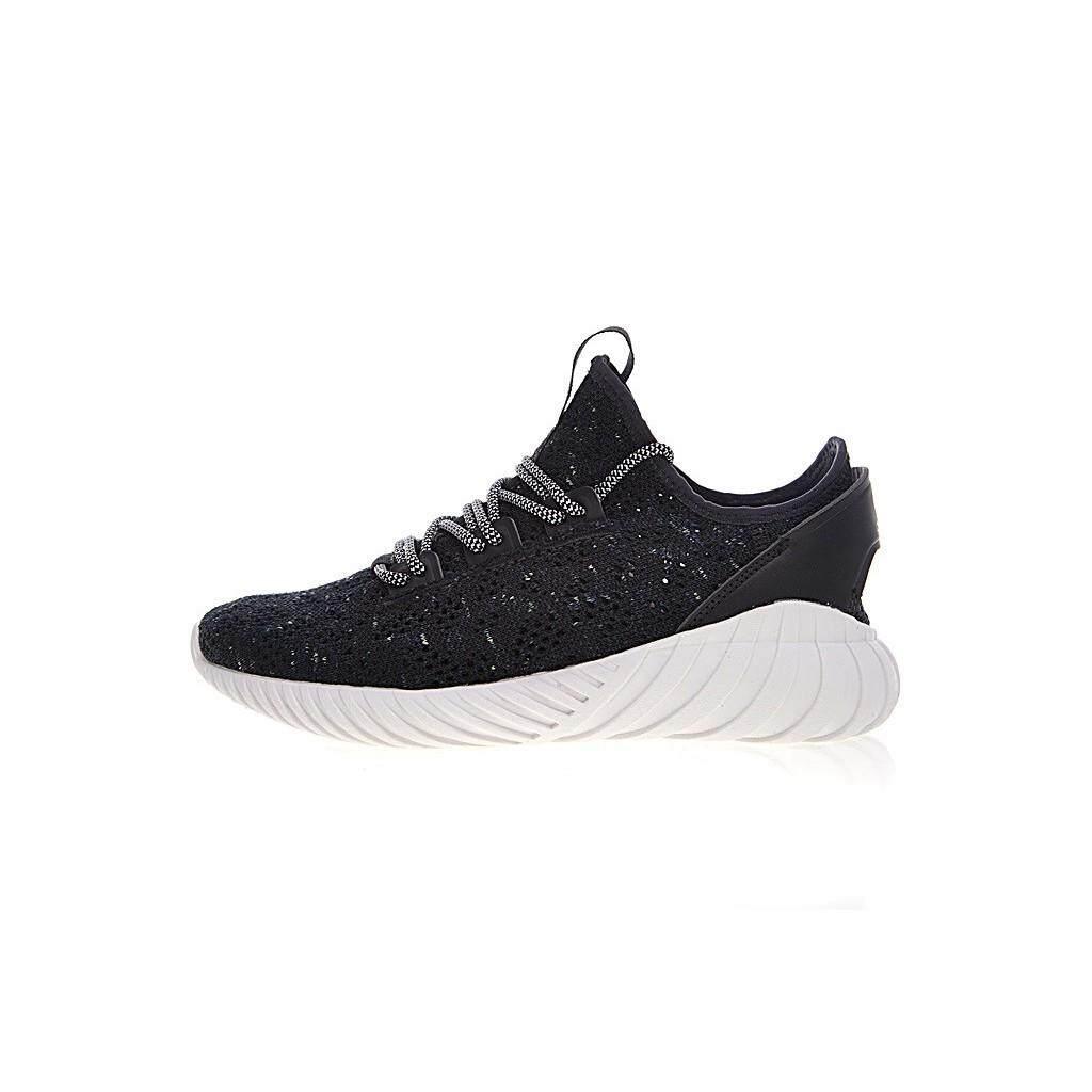 dd93c114a3a6b Adidas Tubular Doom Sock Primeknit Running shoes Black white