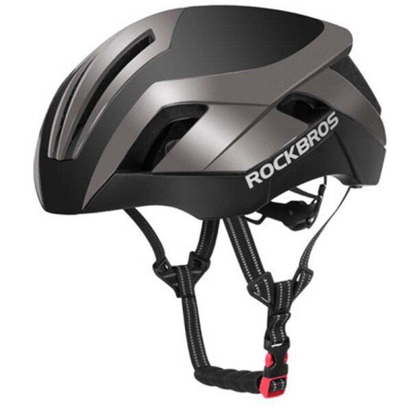 Phân phối ROCKBROS Mũ Bảo Hiểm Xe Đạp 3 Trong 1 Mũ Bảo Hiểm Đèn Phản Quang EPS Cho Nam Xe Đạp Đường Trường Xe Đạp Đường Trường Khí Nén Đúc Nguyên Khối