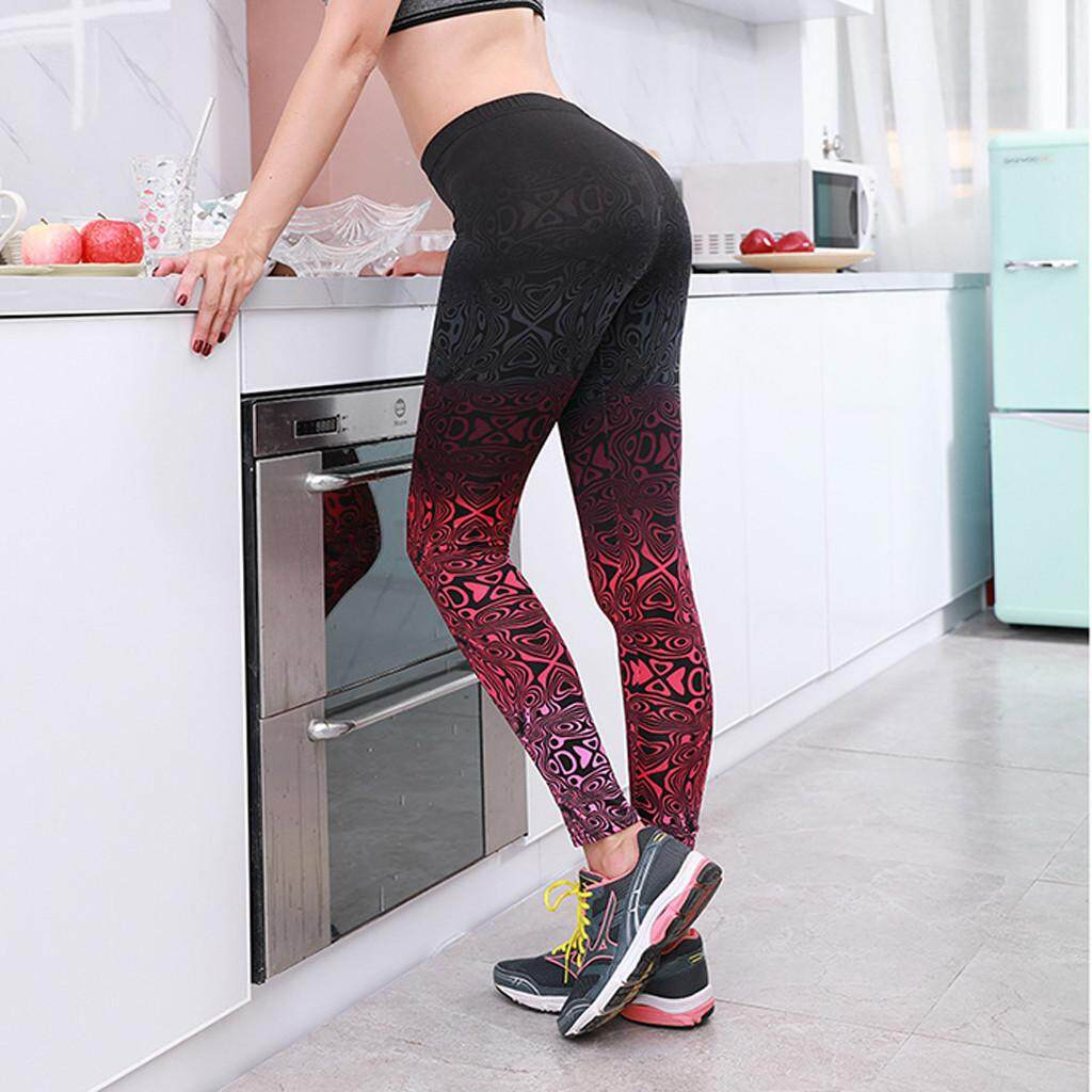 38128fb1e92f2 2939 Women Leggings High Waist Stretched Clothes Fitness Yoga Funny 3D  Printed Pants