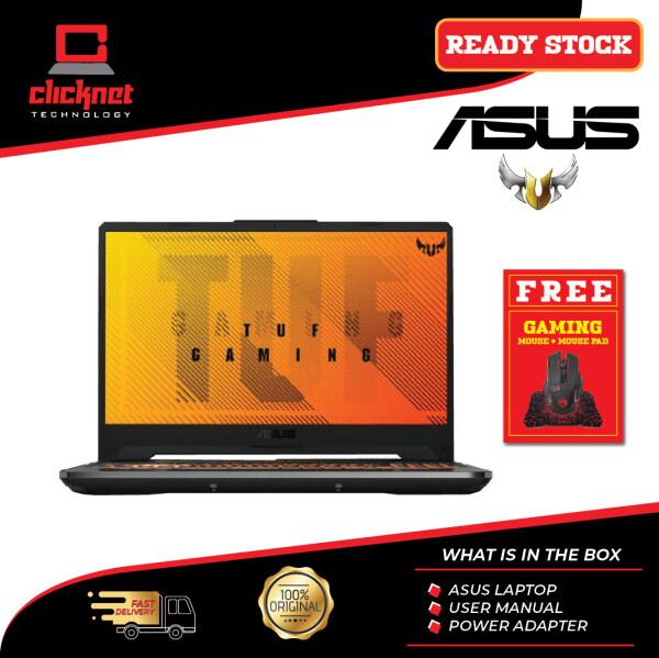 Asus Gaming Laptop TUF FA506I-IHN241T 15.6 FHD Steel Grey (R7-4800HS, 8GB, 512GB, 1650Ti, IPS, 144Hz, W10) Malaysia
