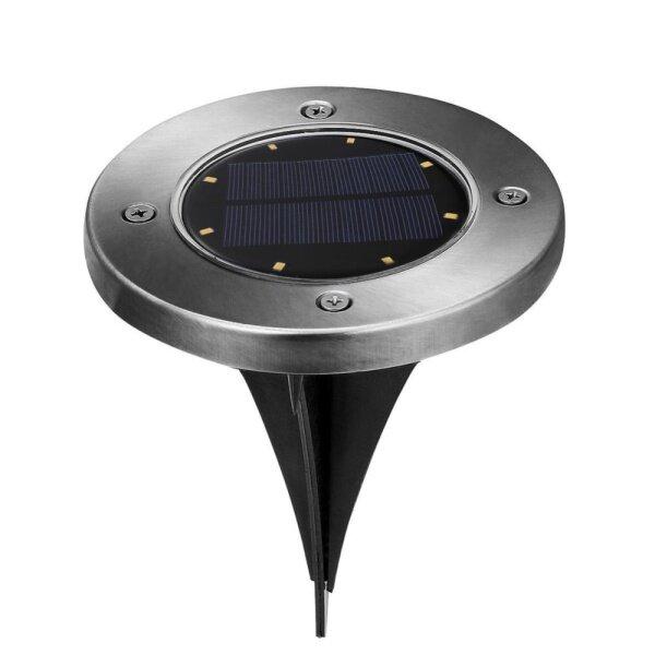 Bảng giá Đèn Chôn Mặt Trời 8 LED Dưới Mặt Đất Đèn Đèn Sân Vườn Lối Đi Ngoài Trời