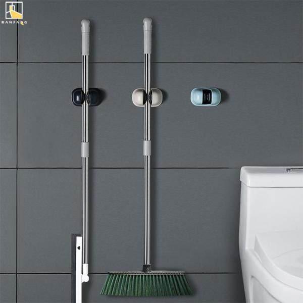 BANFANGBathroom mop hook with no holes wall-mounted mop holder mop rack bathroom strong non-stick hook