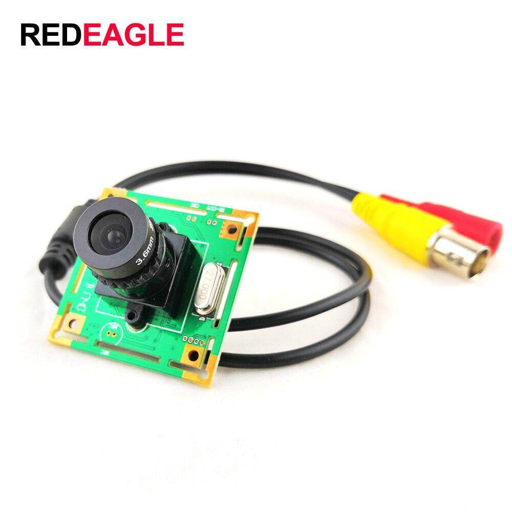 Rdeagle 700Tvl Cmos Color Analog Camera Mini Cctv Security Camera Pcb Camera Module With 3.6Mm Lens