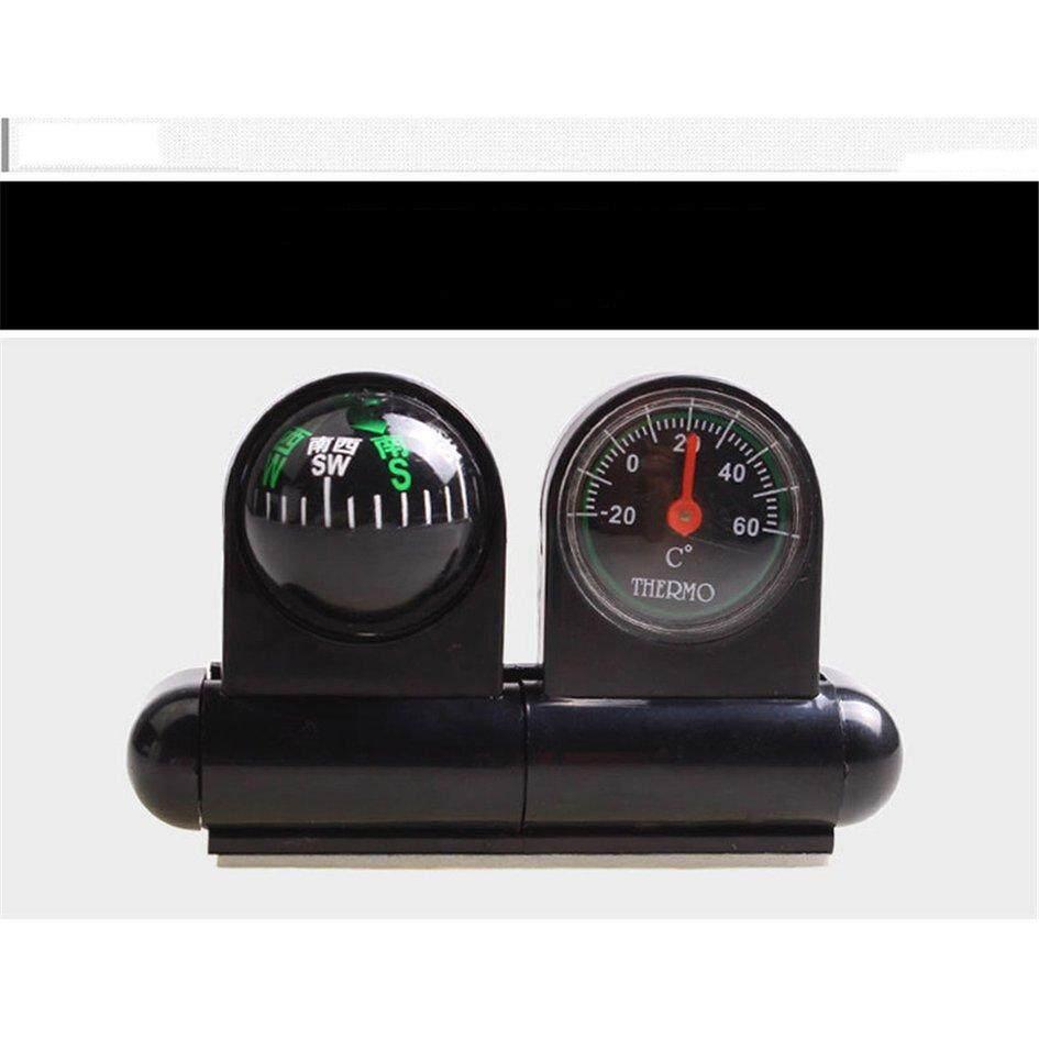 Top Seller Panduan Bola Kompas Mobil Termometer Dashboard Ornamen Tahan Air By Gearray.