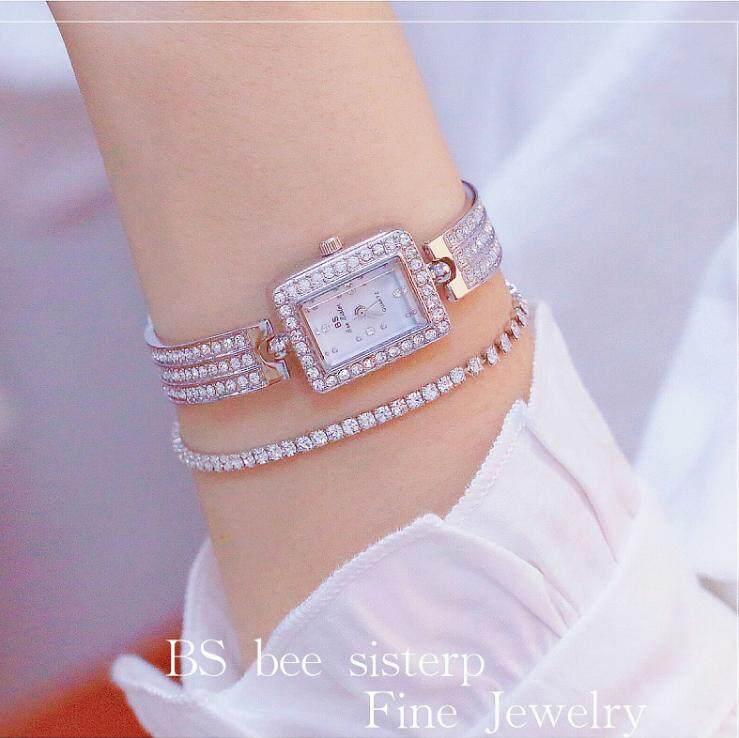 Bs ใหม่เกาหลี Hot Chain นาฬิกาปลายโซ่นาฬิกาเพชรเต็มรูปแบบนาฬิกาสำหรับผู้หญิง Fa0990 By Babyface Store.