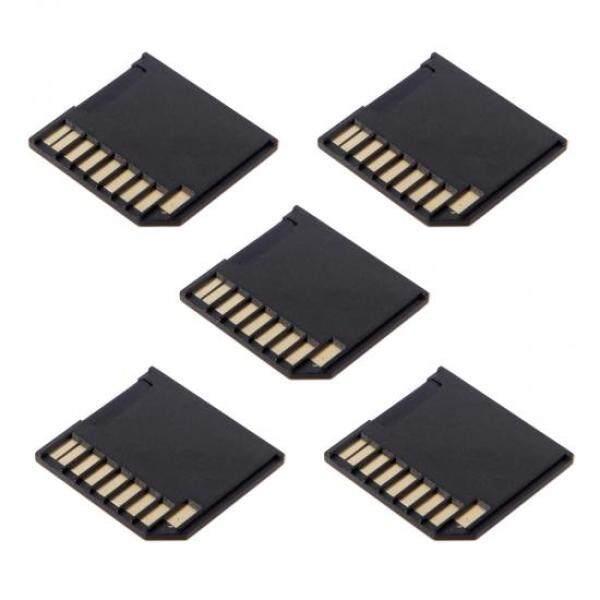Bảng giá 5 chiếc Micro SD TF sang Thẻ SD Bộ Mini, Bộ Chuyển Đổi Nét Thêm Lưu Trữ MacBook Air/Pro /Retina Đen Phong Vũ