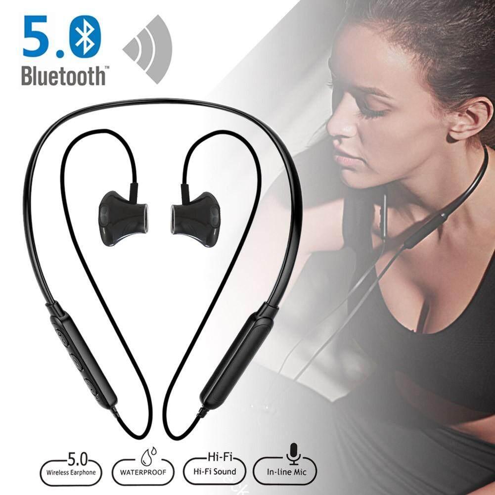 Rp 83.000. Ajkoy Nirkabel Headset Olahraga Bluetoth Headphone dengan Mikrofon Handsfree Bass Korek Kuping Tahan Air Earphone ...