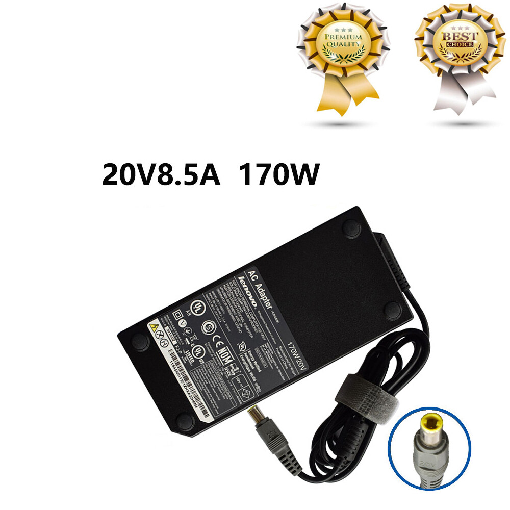 Laptop Ac Power Adapter For Lenovo Thinkpad 45n0117 W520 W530 20v 8.5a 170w Power Adapter.