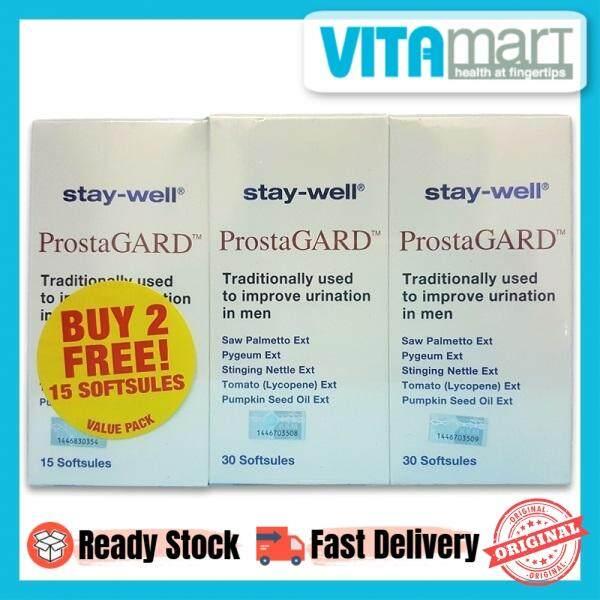 stay-well ProstaGard 2 x 30's Free 15's