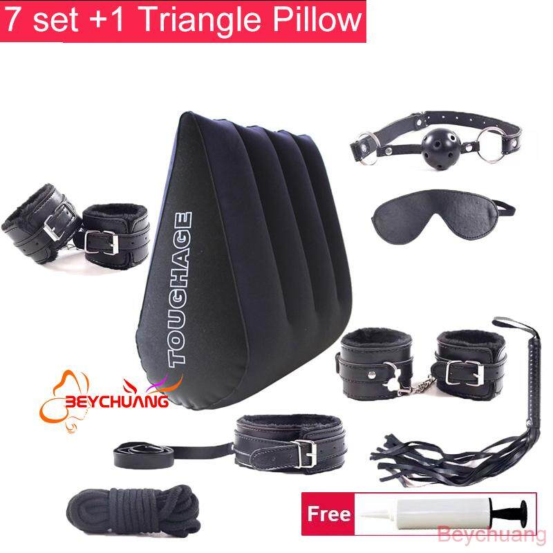 (free A Inflator) 7 Set + Inflatable Aid Wedge Pillow Travel Pillow Triangle Cushion Furniture By Beychuang Shop.