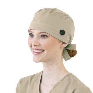 AM Women Bông Băng Có Thể Điều Chỉnh Chà Cap Sweatband Bouffant Mũ Người Đàn Ông thumbnail
