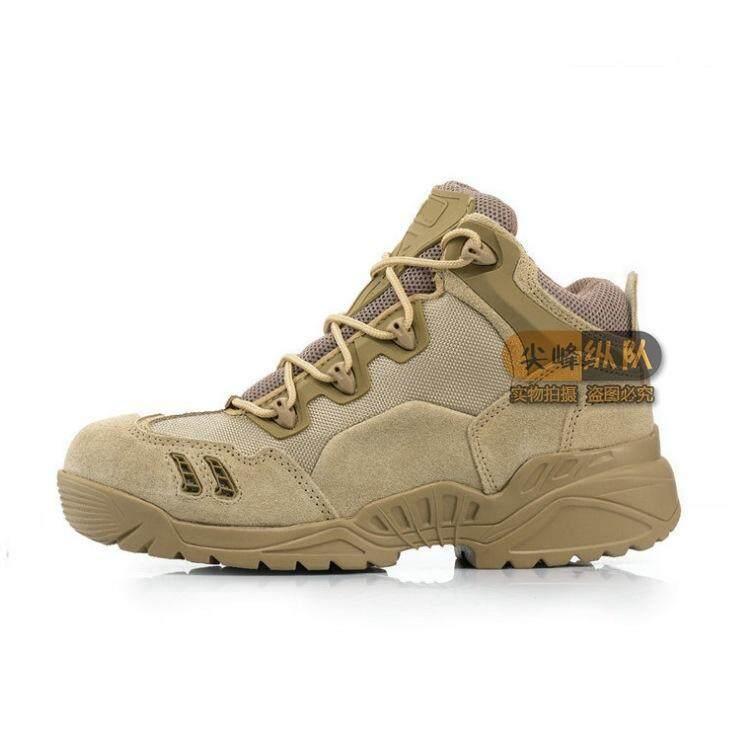 566 Desert Spider รองเท้าบูททะเลทราย Low Forces รองเท้าบูตลุยป่ารองเท้าออกกำลังกาย Breathable รองเท้าคอมแบต By Waterlily.