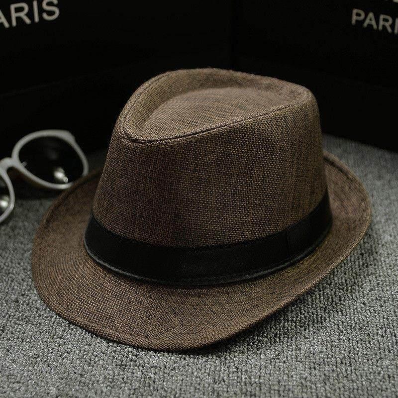 99f301cade2d16 Fashion Unisex Straw Fedoras Sun Hat Panama Trilby Crushable Mens Ladies  Foldable Travel Hats Cap Fedora Cowboy Hats | Lazada