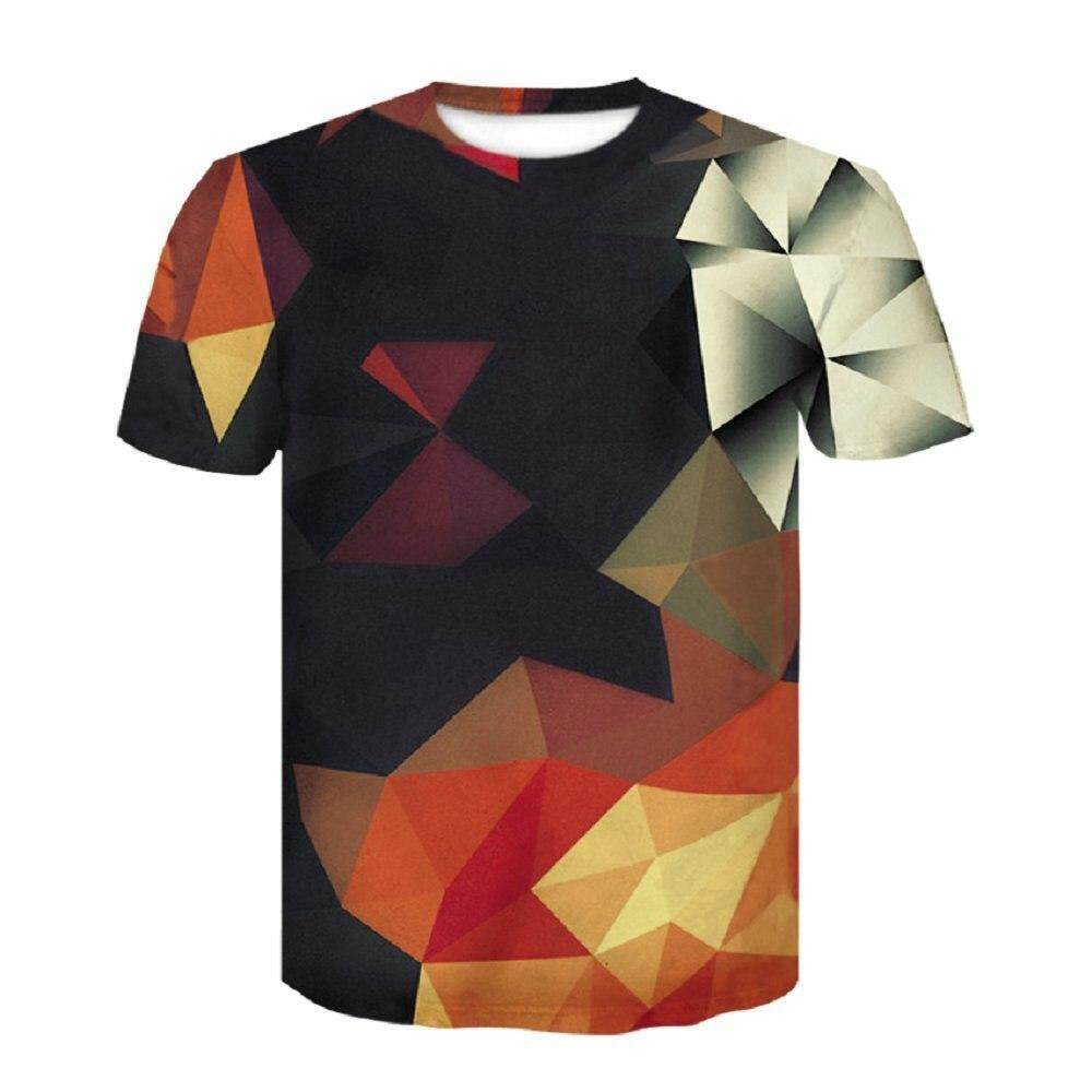cf1c14272 3D Tshirt Men 2019 3D Skull Print Fashion Brand Hipster Harajuku Tees Shirt  Top Summer Cool