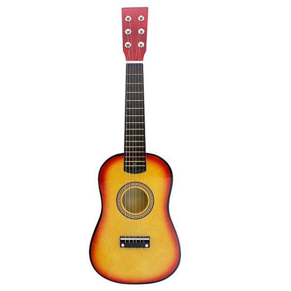 1 Nhạc Cụ Ghi Ta Mộc Dân Gian 23 Inch, Guitar Nhỏ Cho Người Mới Bắt Đầu