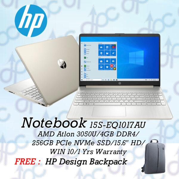HP 15S-EQ1017AU | 15S-EQ1018AU – AMD ( ATHLON 3050U, 4GB, 256GB SSD, AMD RADEON GRAPHICS, 15.6″ HD, 1YR ) Malaysia