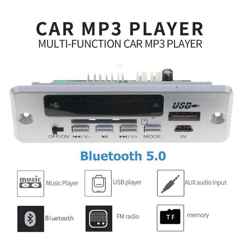 Xe Ô Tô Không Dây Bluetooth MP3 Người Chơi Bộ Giải Mã Mô-đun Màu Sắc Màn Hình Lcd Usb Sd Khe Cắm Thẻ Fm Âm Thanh Xe Ô Tô Bộ có Điều Khiển Từ Xa