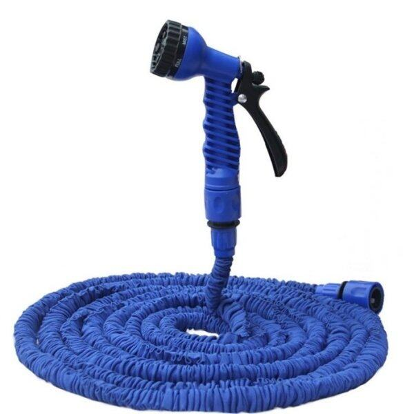 150 ft Hand Jet Water Cannon with 8 Spray Setting + Water Pressure Blue
