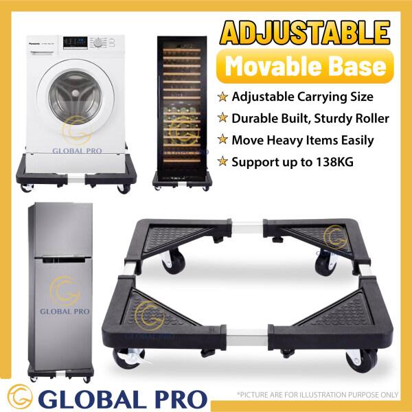 [MED/LARGE] Adjustable Movable Base with Roller Washing Machine Refrigerator Stand Furniture Mover Fridge Roller