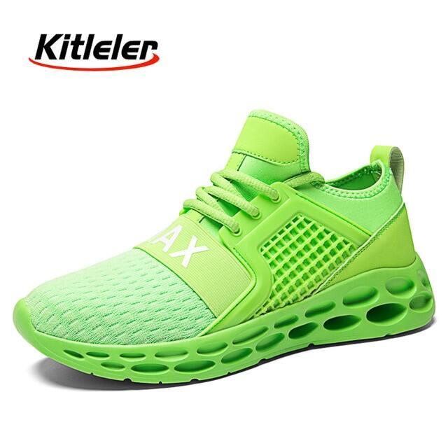 Breathable Sneakers Người Đàn Ông Giày Chạy Giày Tennis Thể Thao Nhẹ Cỡ Lớn Giày Thể Thao Nữ Đi Bộ Chống Trượt Thời Trang Unisex