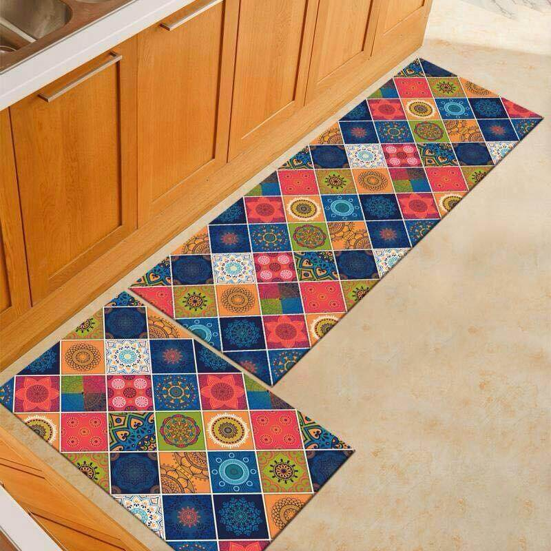 2 Pcs/set Kitchen Mat Carpet With Anti Slip By Sc Automation.