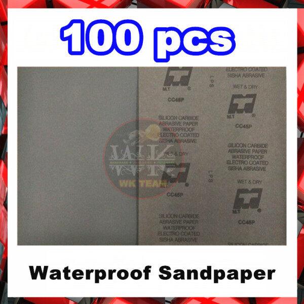 [ 100 PIECE ] MT WATERPROOF Sandpaper / Sand Paper / Kertas Pasir kalis air