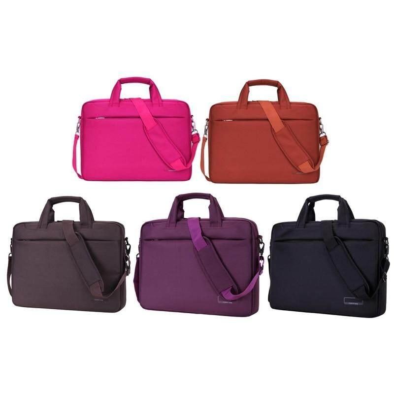 c126a7a2e1f Laptop bag 17 15 14 12 inch Nylon airbag shoulder handbag computer bags  Waterproof Messenger Women