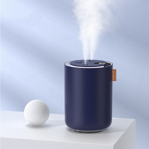500ML Portable Personal Humidifier Dual Spray Nozzle Aroma Diffuser Humidifier Adjustable Mist Modes Singapore