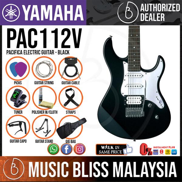 Yamaha PAC112V Pacifica Electric Guitar - Black (PAC 112V/PAC-112V) Malaysia