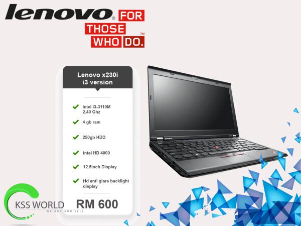 Lenovo x230i/x230 Intel i3/i5 Malaysia