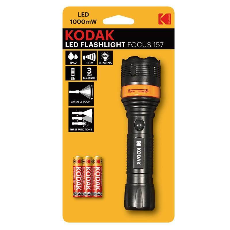 9.5cm 20 Lumens Kodak Led Pen Flashlight With Battery /& Clip