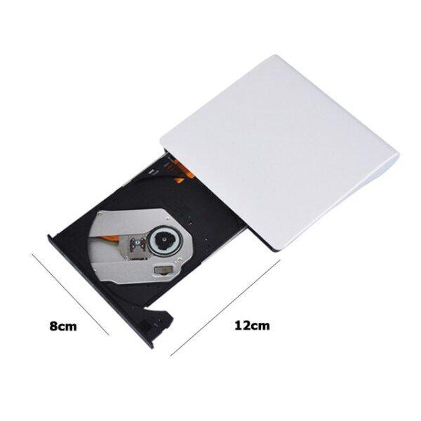Bảng giá Ổ Đĩa CD DVD Gắn Ngoài, Ultra Slim DVD ROM Portatil Lector DVD Externo Đầu Ghi Lại ROM DVD CD USB 3.0 Dành Cho Máy Tính Phong Vũ