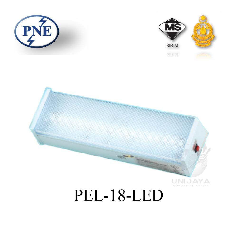 PNE PEL-18 Self_Contained LED Surface Emergency Light (Bomba Approved Certificate)