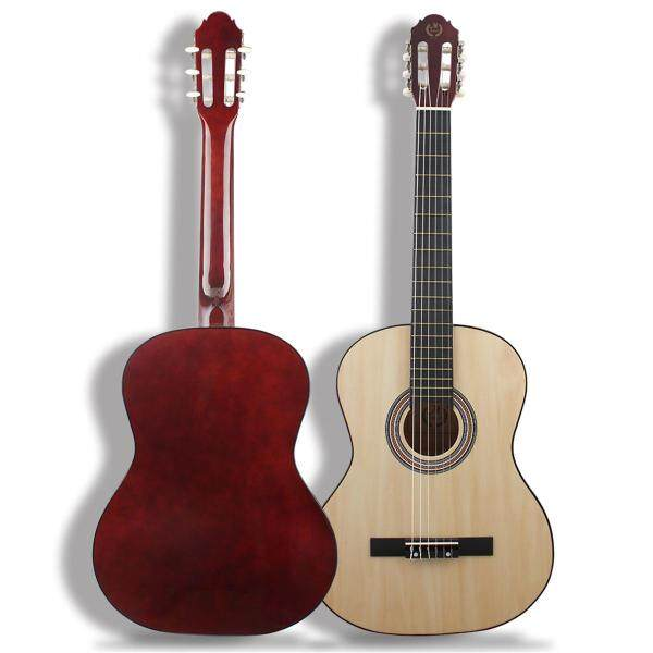 Mebite 39 Inch Classical Acoustic Guitar 6 Strings Beginner Adult Student - natural color Malaysia