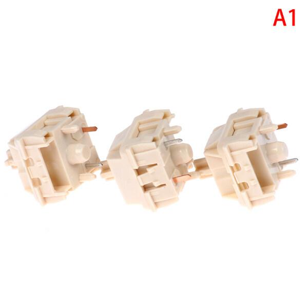 NovelKeys x Kailh Cream switch RGB SMD linear 55g force 5pin mx stem switch