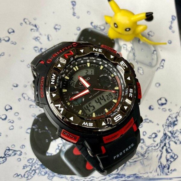 SPECIAL PROMOTION CASIO_GSHOCK_PROTEK DUAL TIME RUBBER STRAP WATCH FOR MEN AND WOMEN Malaysia