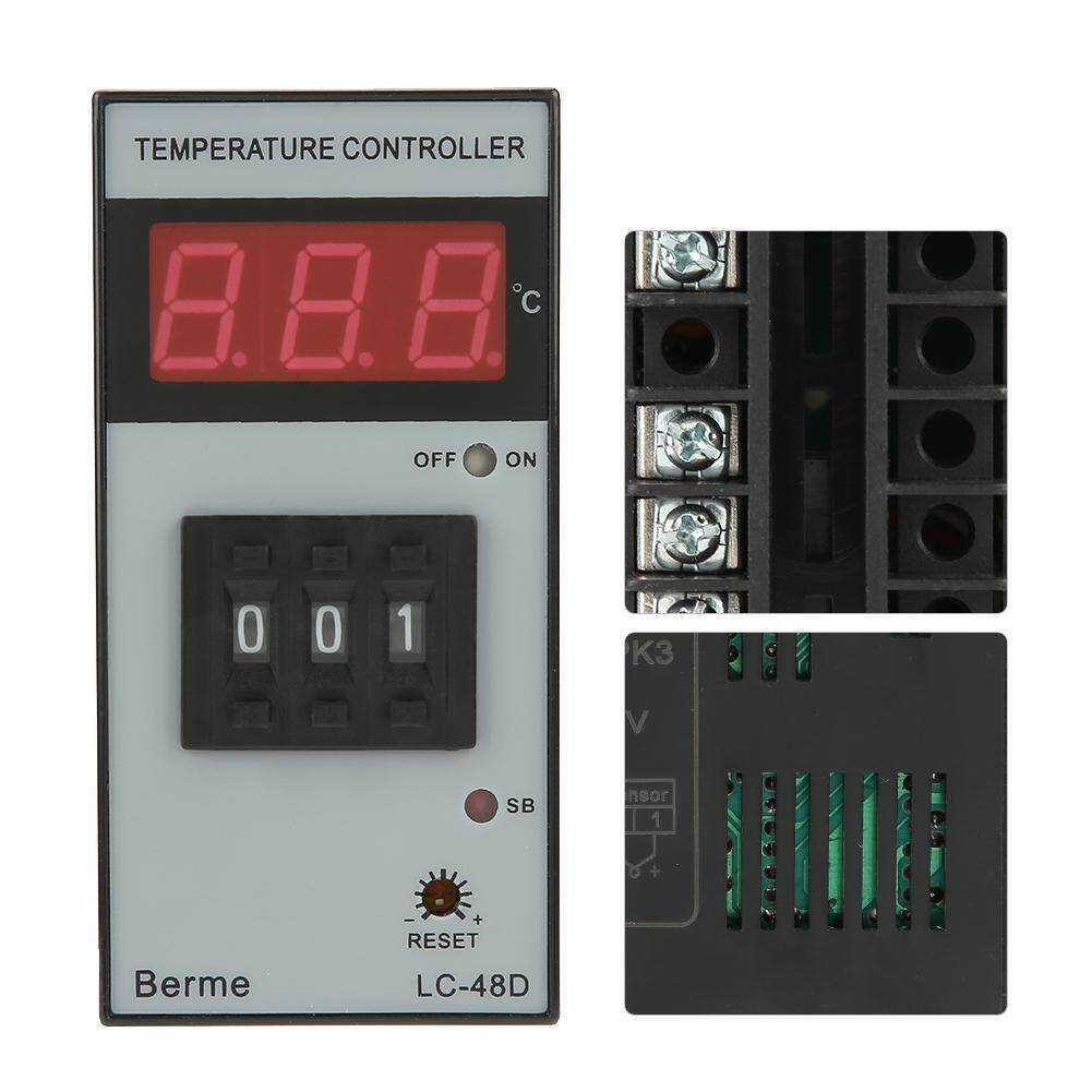 【Time-limited Promotions】LC-48D-RPK3 Digital Display Temperature Controller Thermostat Temperature Control Instrument