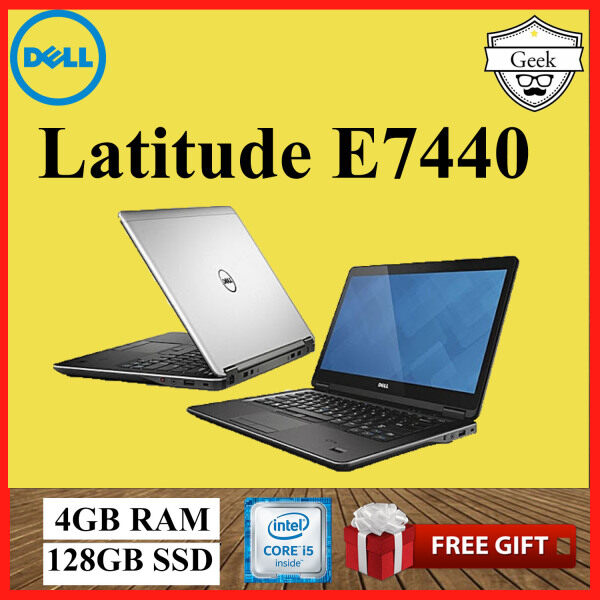 Dell Latitude E7440 Ultrabook Slim - Core i5-4th Gen - 4GB RAM -128GB SSD -14 Inch Malaysia