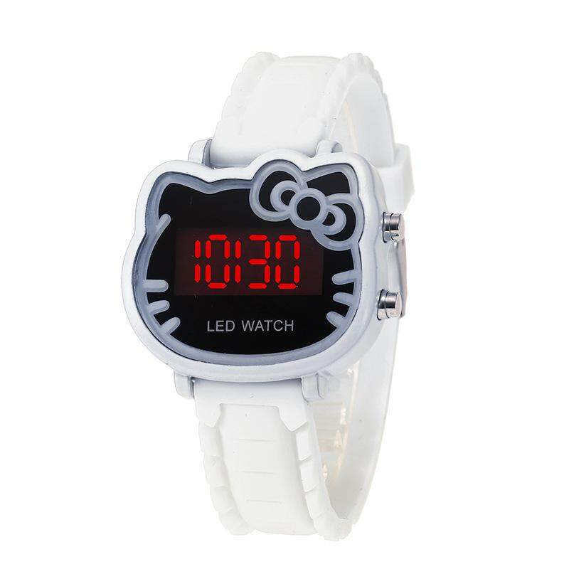 Unisex Sports Candy Wrist Watch Creative Blue Rose Red Color Activity For Boys And Girls Chirdren Kids Gifts Watches