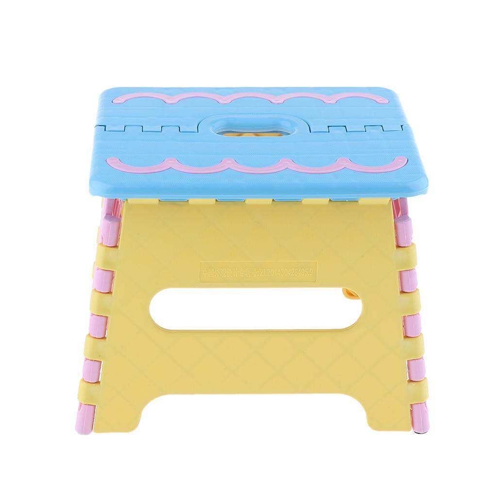 BolehDeals Folding Step Stool for Kids Kitchen Garden Bathroom Stepping Stool