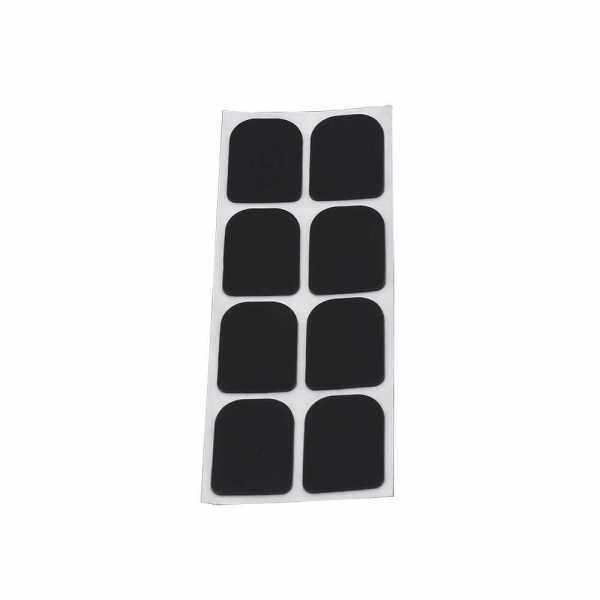 Black Rubber Soprano Saxophone Sax Clarinet Mouthpiece Patches Pads Cushions Malaysia