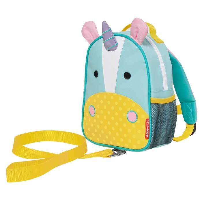 Skip Hop Zoo Let Mini Backpack With Reins - Unicorn By Baby Parenting Hub.