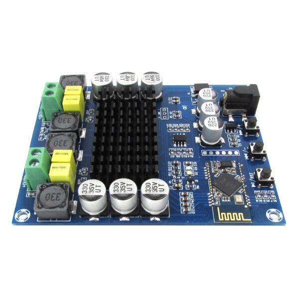 Bộ khuếch đại công suất kỹ thuật số XH-M548, mạch khuếch đại âm thanh kỹ thuật số hai kênh 120W + 120W TPA3116D2 Bluetooth 4.0