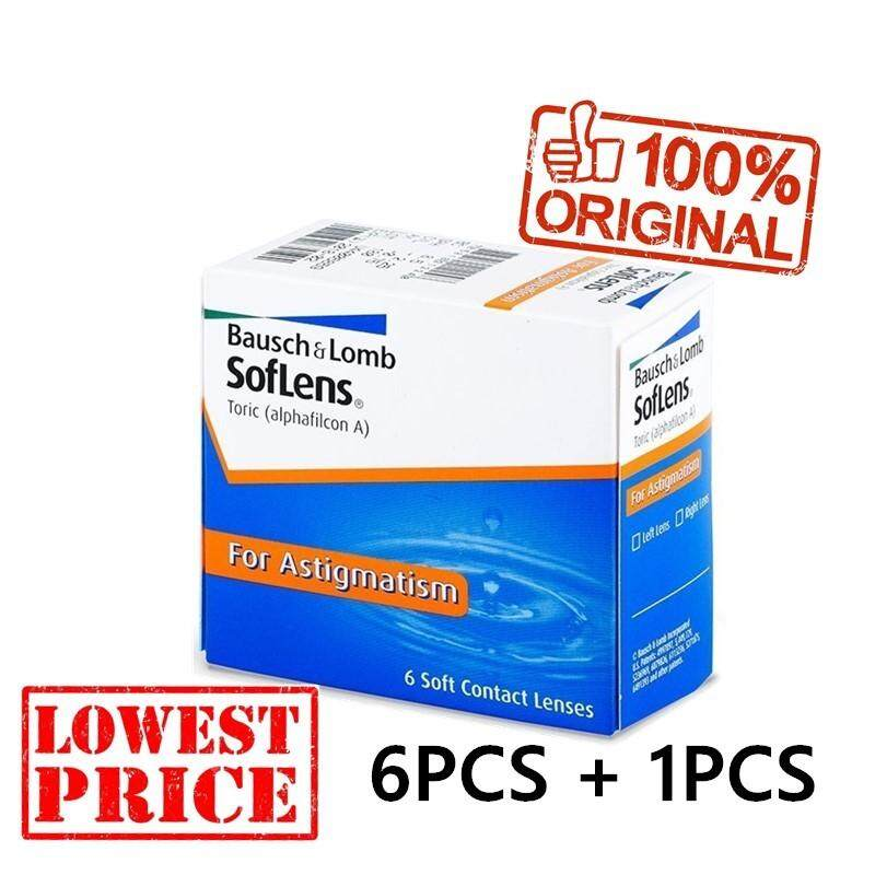 Malaysia. BAUSCH   LOMB Soflens 66 Toric Monthly Contact Lenses 6 Pcs +  1pcs Astigmatism ca61f470d4